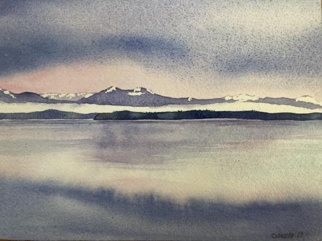 Sheila Roote: Water, Mountain, Sky Logo