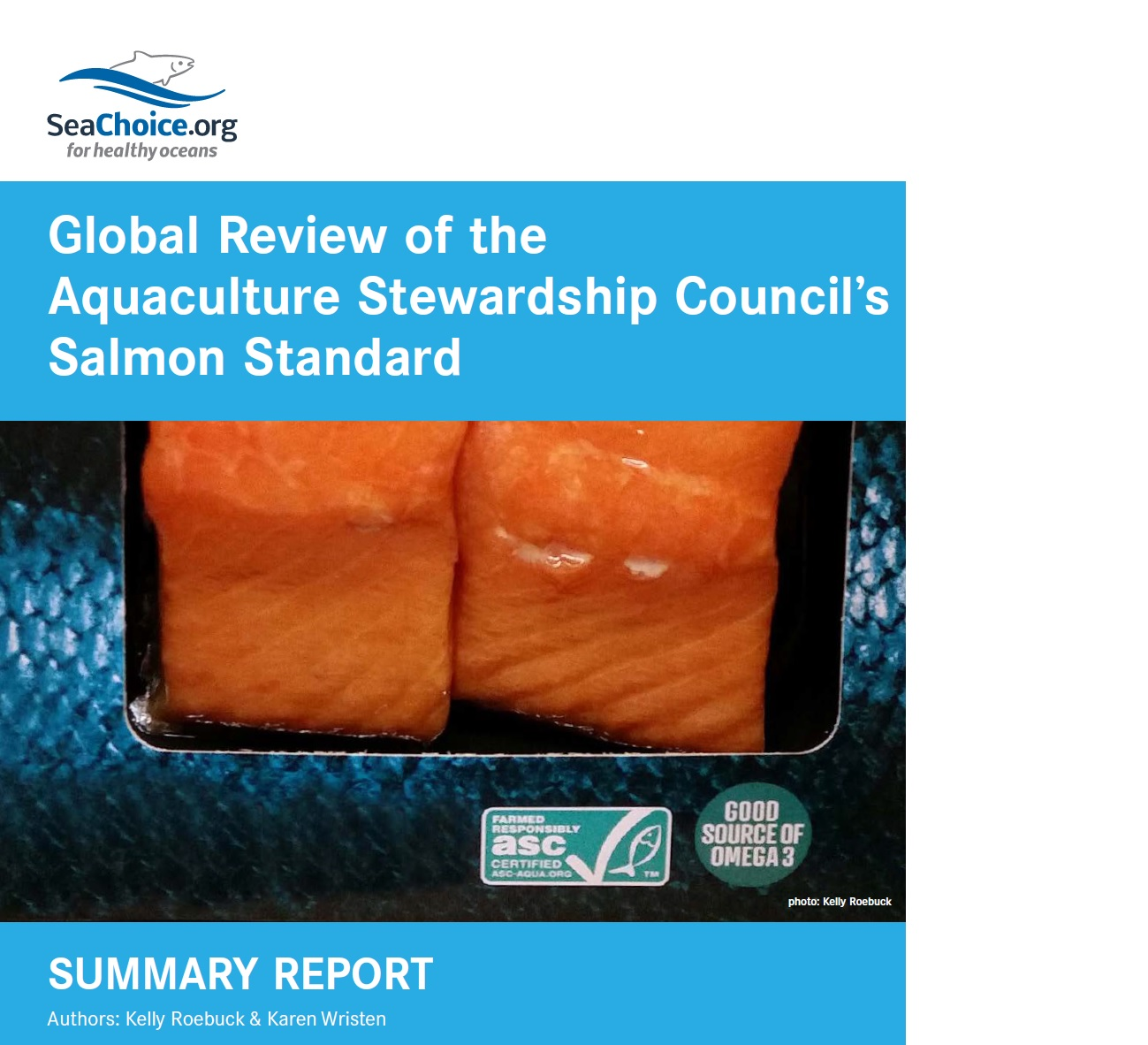 Global Review of ASC Salmon Standard - cover