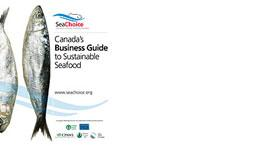 Canada's Business Guide to Sustainable Seafood